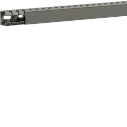 BA7A25025 slottet panel trunking BA7A 25x25, grey