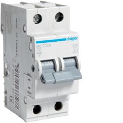 Details about  /1pcs New hager MC220P miniature circuit breaker 2P 20A