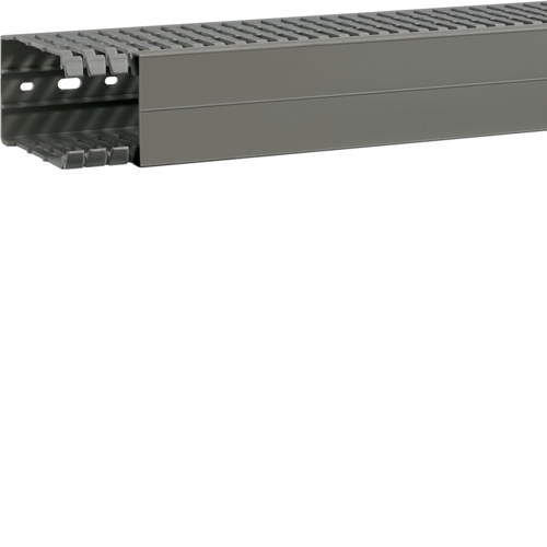 BA7A100060 slottet panel trunking BA7A 100x60, grey