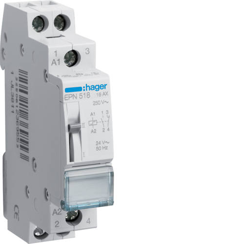EPN518 Latching relay 1NC+1NO 24V