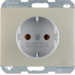 41157004 SCHUKO SOCKET OUTLET - K5 S/STEEL